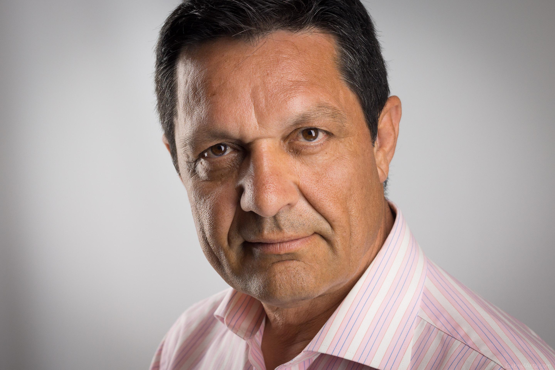 Fotografía de Retrato de Javier Cárdaba realizado por Gabriel Anta