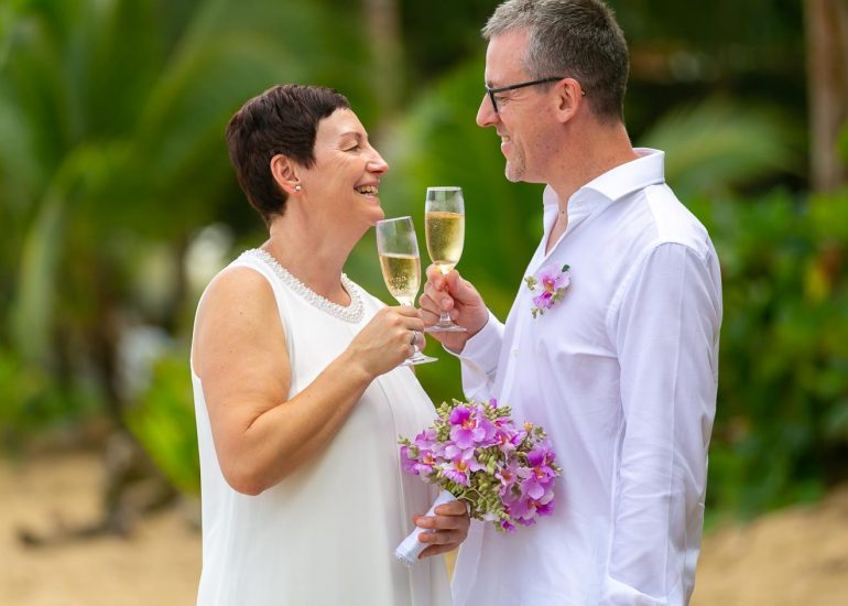 Wedding at Puerto Viejo Beach, Costa Rica